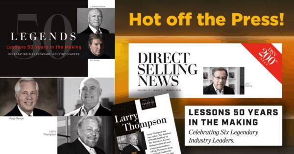 Larry Thompson Feature | March 2021 Direct Selling News