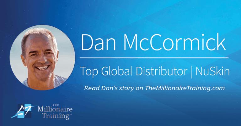 Dan McCormick's Millionaire Training Story