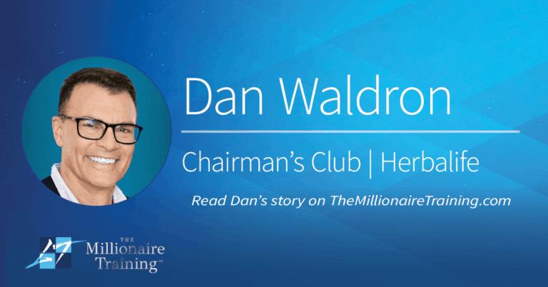 Dan Waldron's Millionaire Training Story