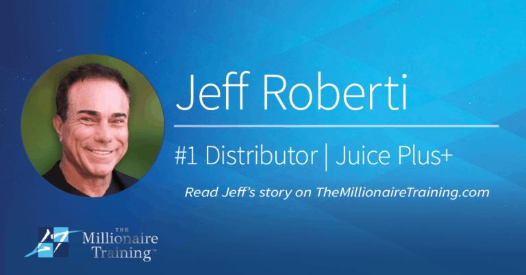 Jeff Roberti's Millionaire Training Story