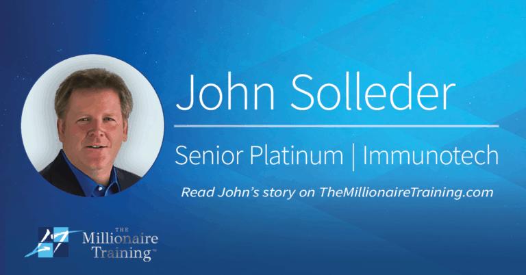 John Solleder's Millionaire Training Story