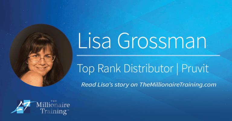 Lisa Grossman's Millionaire Training Story