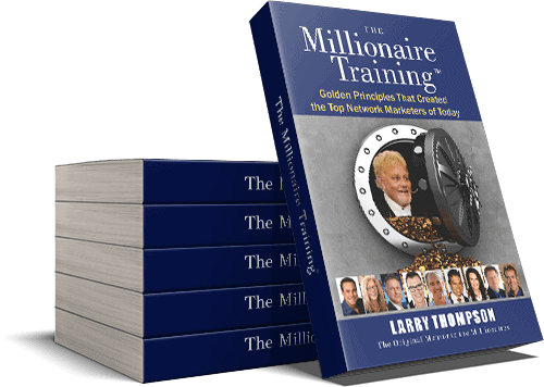 Stack of Millionaire Training Books