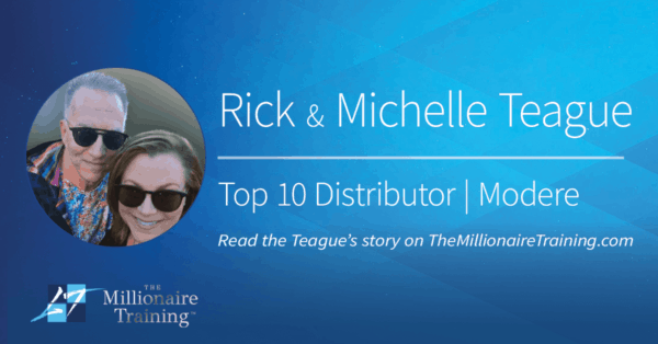 Rick and Michelle Teague Millionaire Training