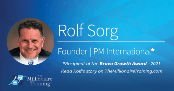 Rolf Sorg Millionaire Training