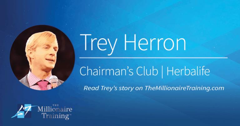 Trey Herron's Millionaire Training Story